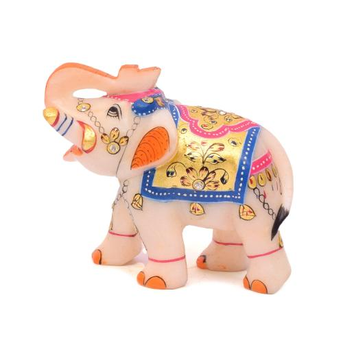 MARBLE STATUE ELEPHANT