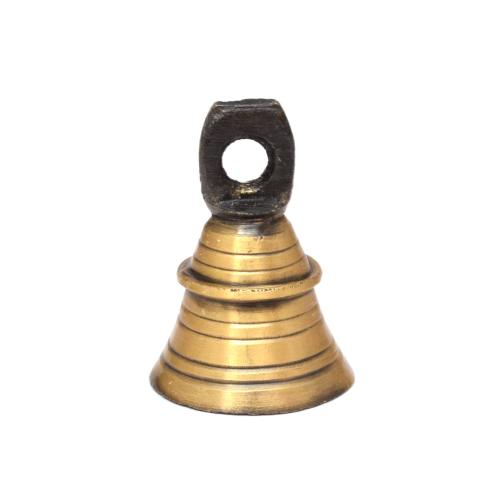 BRASS BELL WITH ANTIQUE FINISH