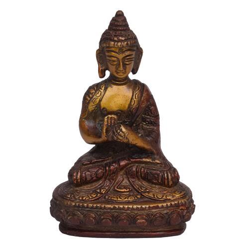 BRASS BUDDHA IDOL