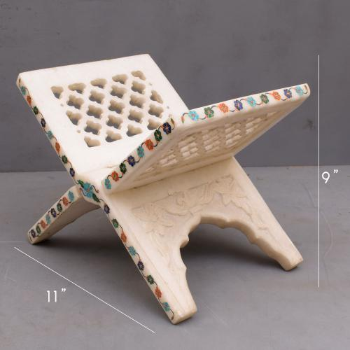 MARBLE STONE BOOK STAND