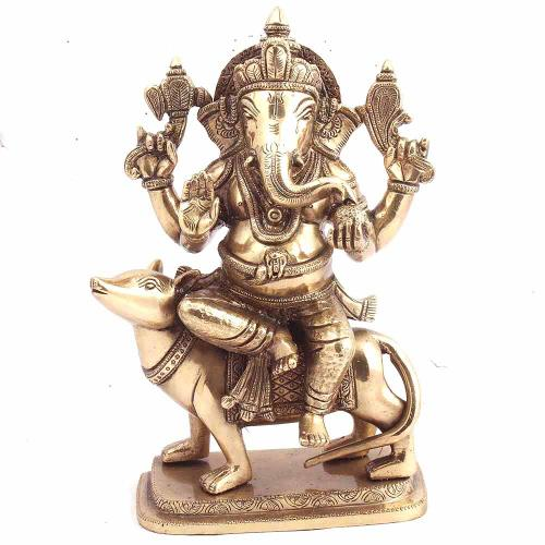 GANESHA ON MOUSE