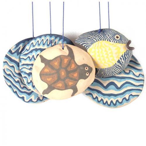 TORTOISE FISH CHIME