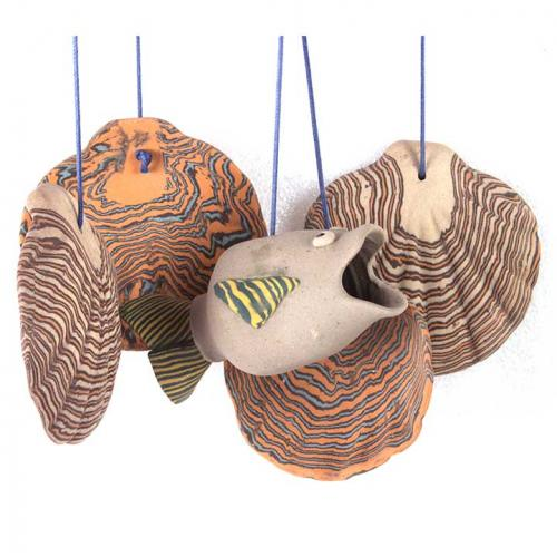 SHELL FISH WAVE CHIME