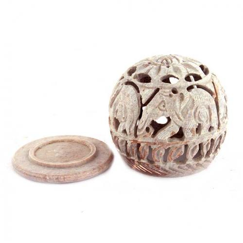 CARVED BALL