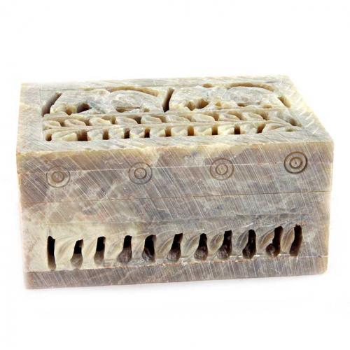 BOX JALI CARVED