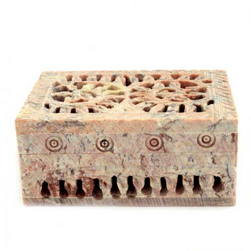 BOX CARVED JALI BOX