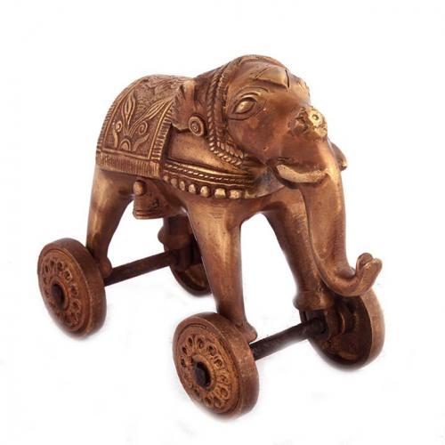 Wheel Elephant AQ Standing