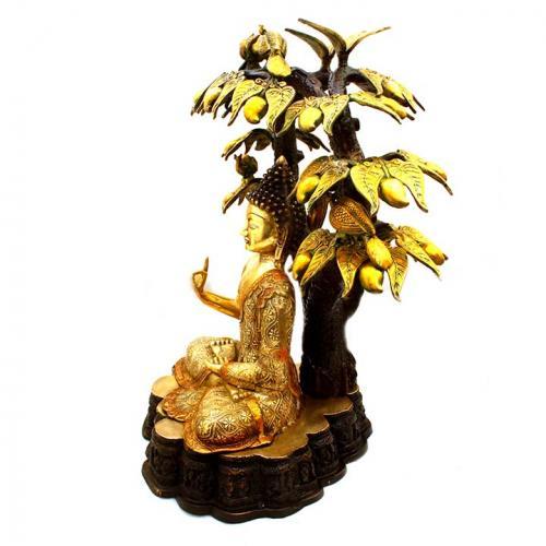 BUDDHA SITTING UNDER TREE