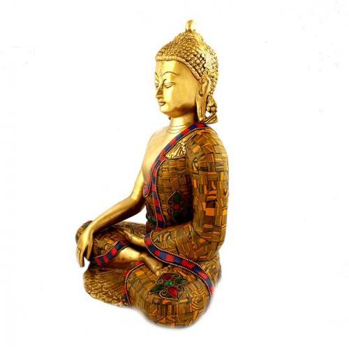 BUDDHA STTING WITHOUT BASE