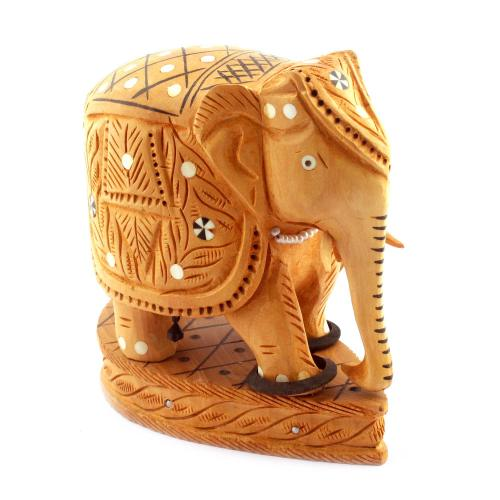 CARVING STAND ELEPHANT