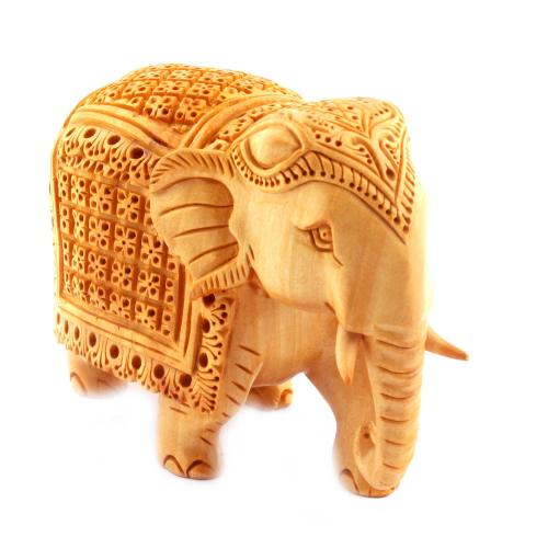 CARVING STAND ELEPHANT FINE