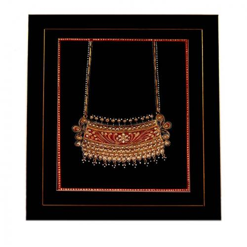 MDF PAINTING-JEWELLERY(NECKLACE)