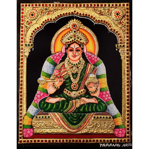 TANJORE PAINTING ANNAPPORNE